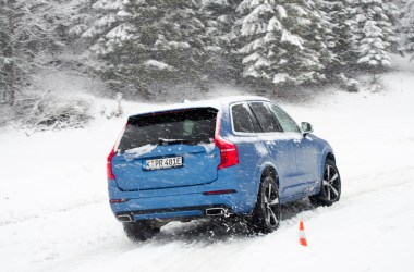 Volvo XC90 T8 Twin Engine Winter Drive Roadtrip