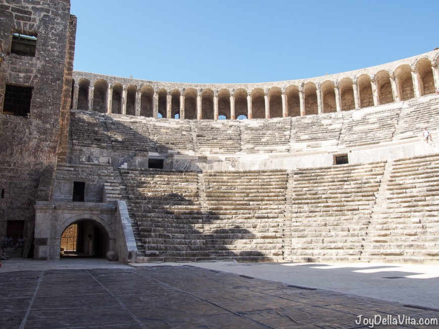 Roman Theatre Aspendos Antalya Travel Blog JoyDellaVita