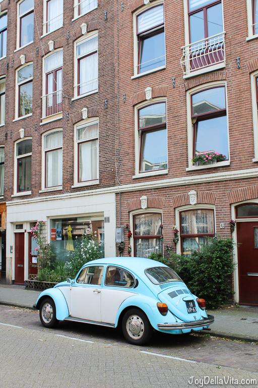 Vintage Volkswagen Beetle in Amsterdam