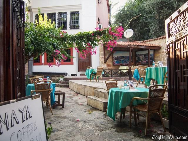 cute little restaurants in Antalya Old Town