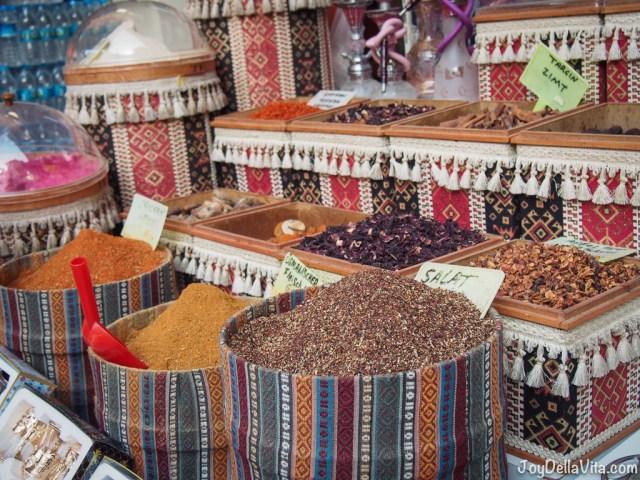 turkish spices in antalya