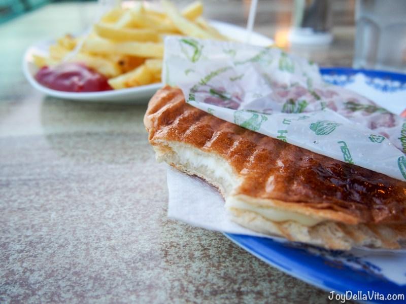 Cheese Toast in Antalya