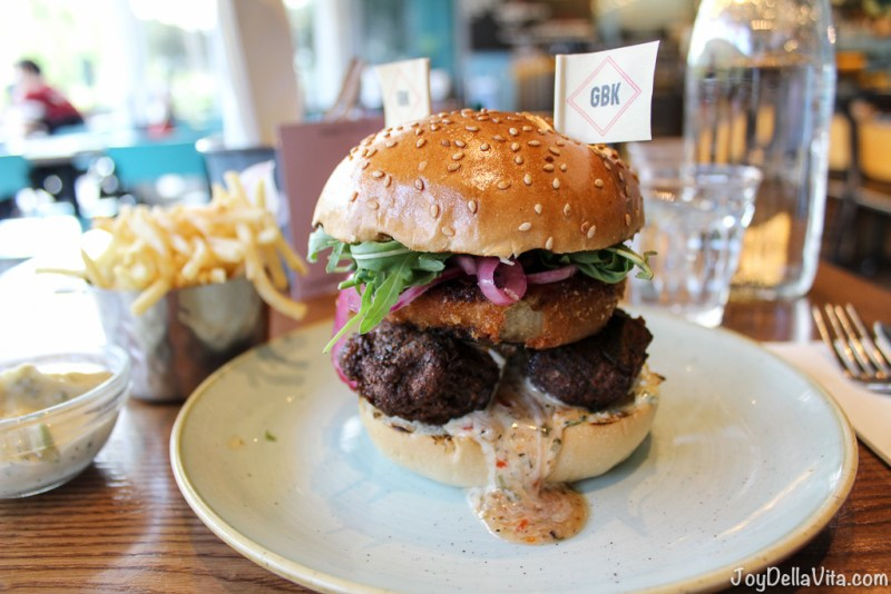 Falafel Burger By Gourmet Burger Kitchen London Westfield Joy
