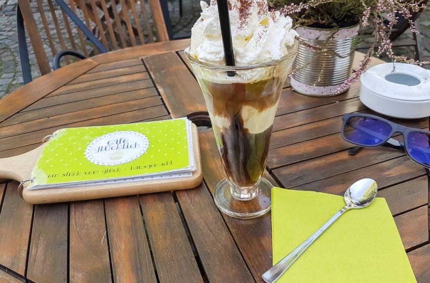 Iced Coffee at Cafe Glücklich Ravensburg