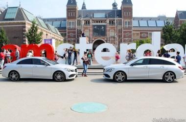 Mercedes-Benz CLA i Amsterdam