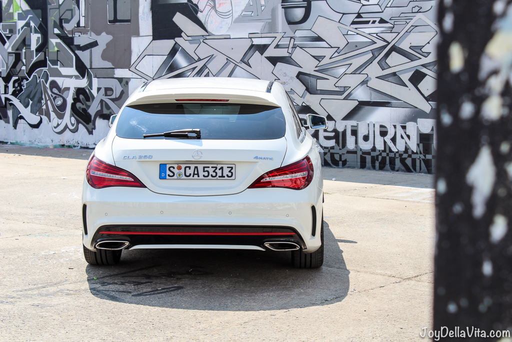 Discovering Berlin with the Mercedes-Benz CLA Facelift