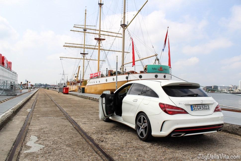 Car at NDSM-Pier Amsterdam