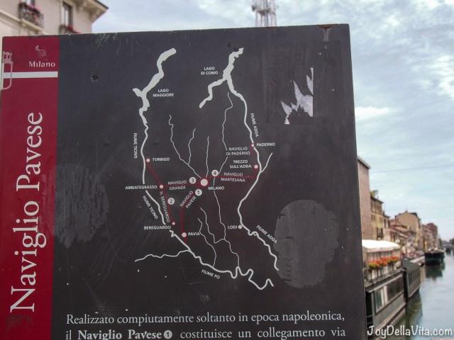 Naviglio Grande Milan Navigli District