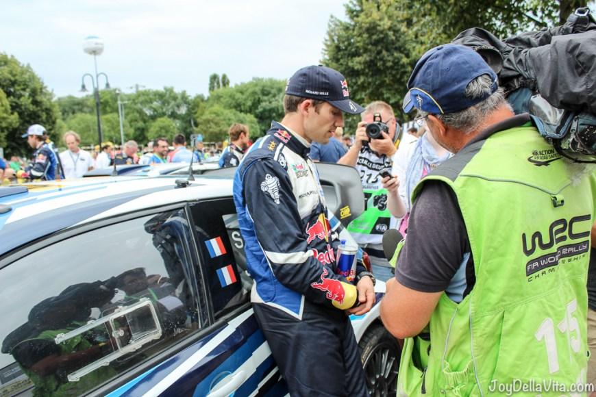 Sebastién Ogier Interview after Rallye Germany 2016