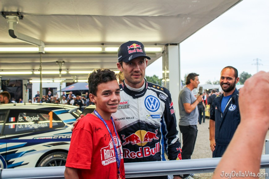 for the drivers there is always time for photos with fans