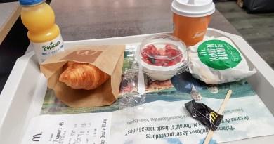 Breakfast at McDonalds Spain Palma Airport JoyDellaVita