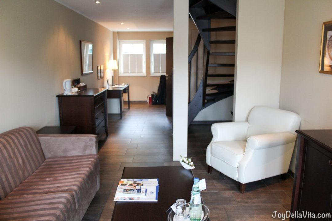Island Suite on 2 levels at Maritim Hafenhotel Rheinsberg