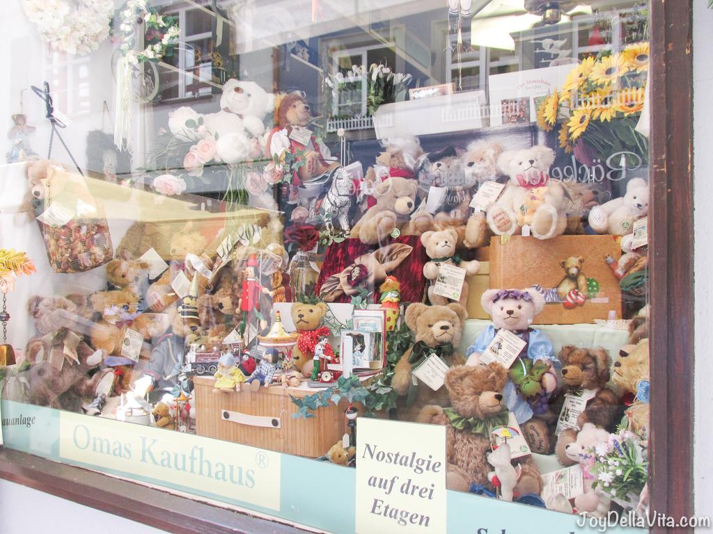 Teddy Bears in Window