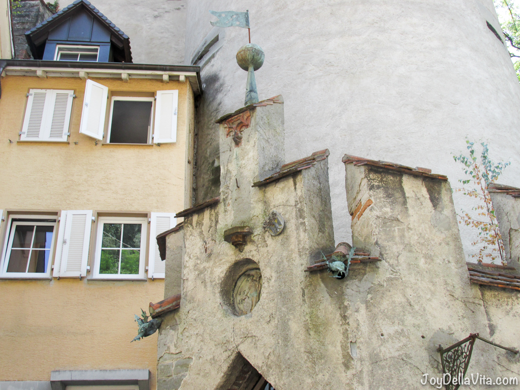 historic architecture in Meersburg