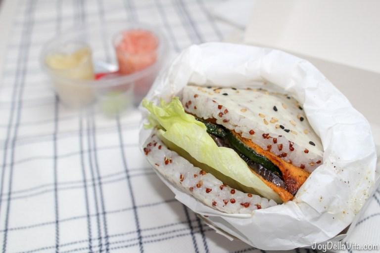 Veggie Sushi Burger by 'Kreative Reisrollen' Tettnang