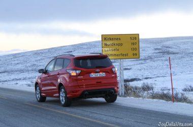 North Cape in November Norway Travel Video Travelblog JoyDellaVita
