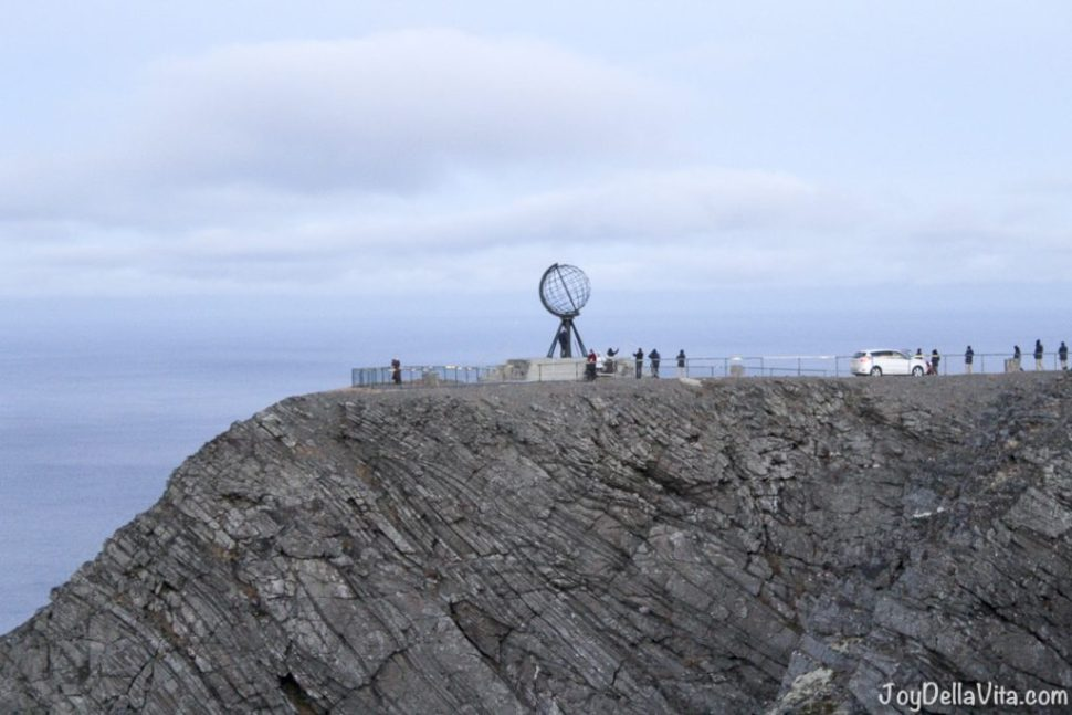 North Cape with the famous Globe