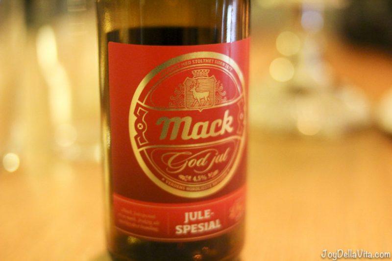 Mack Julespesial Beer SCANDIC Bryggen Honningsvag NorthCape Norway
