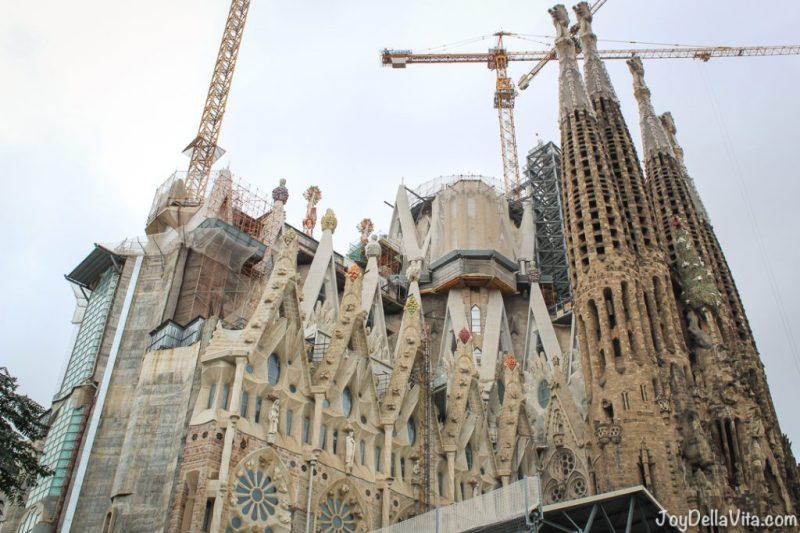 Sagrada Familia Barcelona Travelblog Joy Della Vita