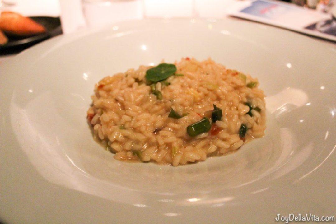 Risotto Torre dAlta Mar 360 Restaurant Barcelona Blog JoyDellaVi