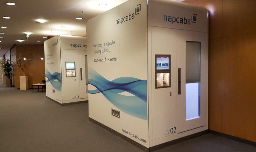 napcabs Sleeping Box at Berlin Tegel Airport TXL
