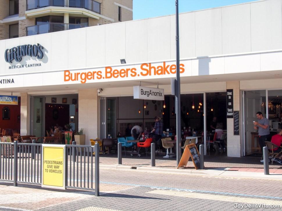 Burger Restaurant BurgANomix in Glenelg Beach