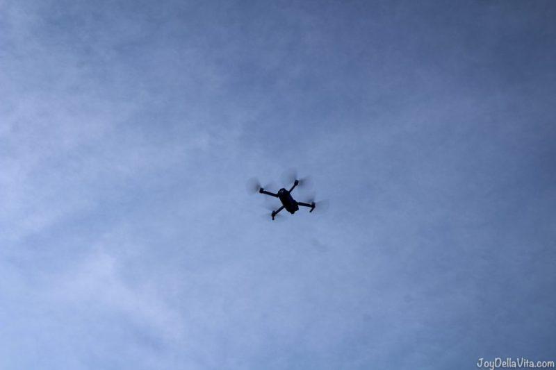DJI Mavic Pro first time flying a drone lisa joydellavita castel