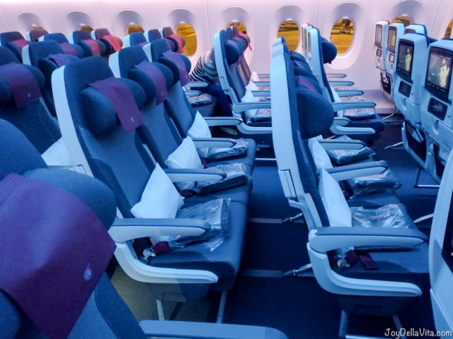 Qatar Airways Doha to Adelaide Economy Class JoyDellaVita