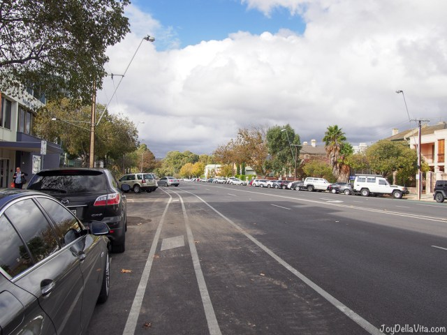 wide roads in Adelaide
