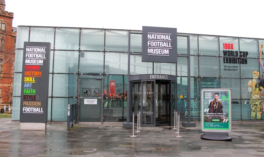 Football Museum Manchester – (almost) Free Entry!
