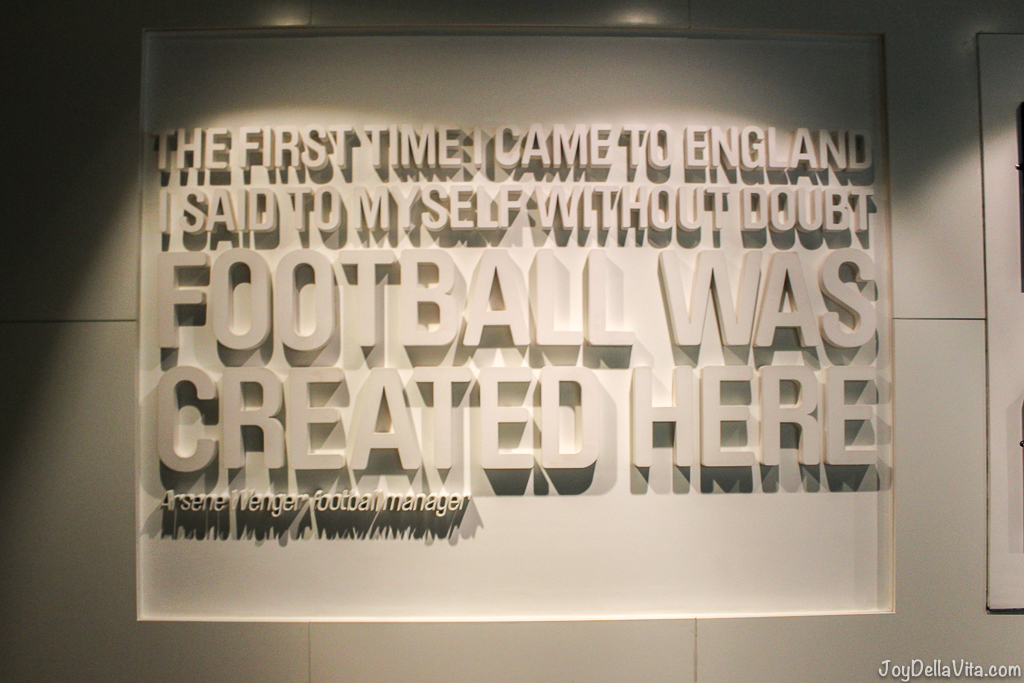 'The first time I came to England I said to myself without doubt Football was created here' - Arsene Wenger, Football Manager