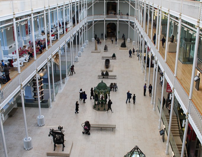 National Museum of Scotland in Edinburgh (free admission)