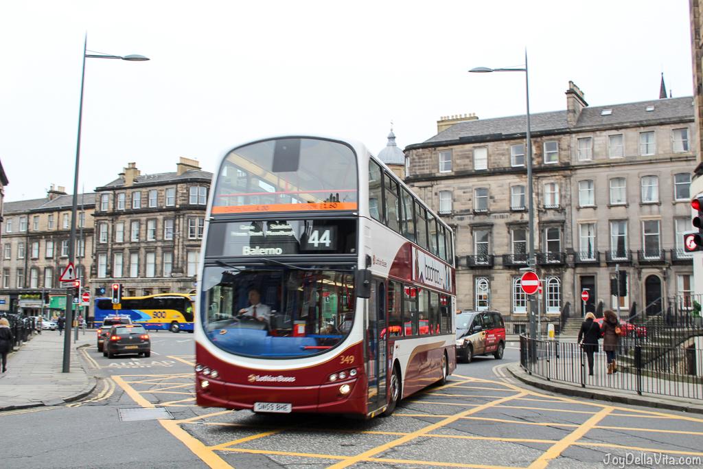 Busse in Edinburgh, Schottland Reiseblog