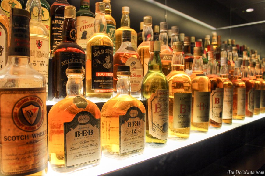 Part of the Worlds largest Scotch Whisky Collection Edinburgh JoyDellaVita