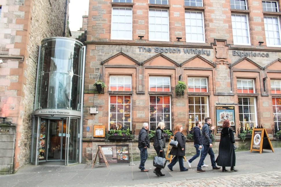 Scotch Whisky Experience seen from Castlehill Edinburgh JoyDellaVita