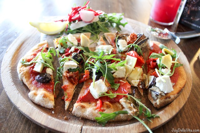 Skinny Primavera Pizza Zizzi Edinburgh JoyDellaVita
