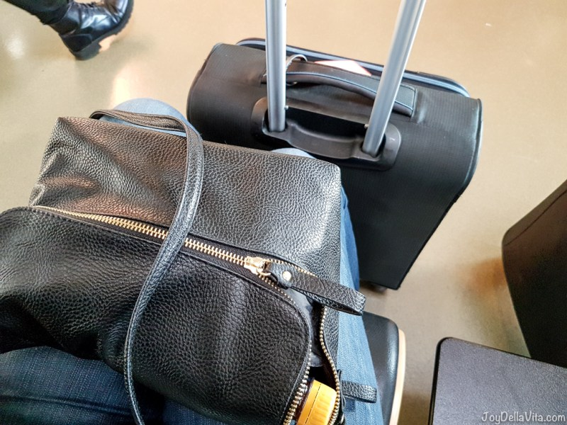 easyJet cabin luggage small Suitcase and a handbag JoyDellaVita