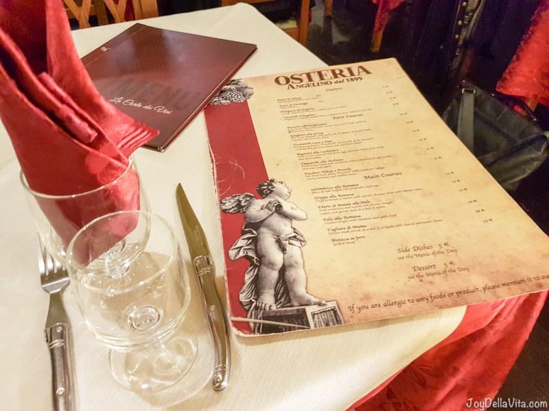 Cacio e Pepe Osteria Angelino dal 1899 Rome JoyDellaVita