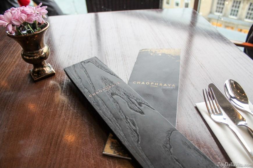Chaophraya Thai Restaurant Edinburgh JoyDellaVita