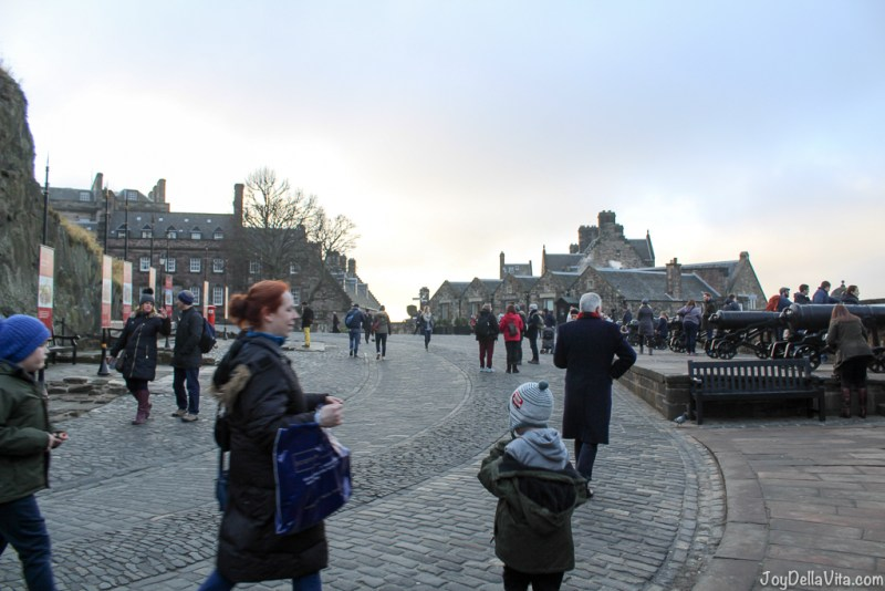 Edinburgh Castle Edinburgh Scotland Travelblog JoyDellaVita