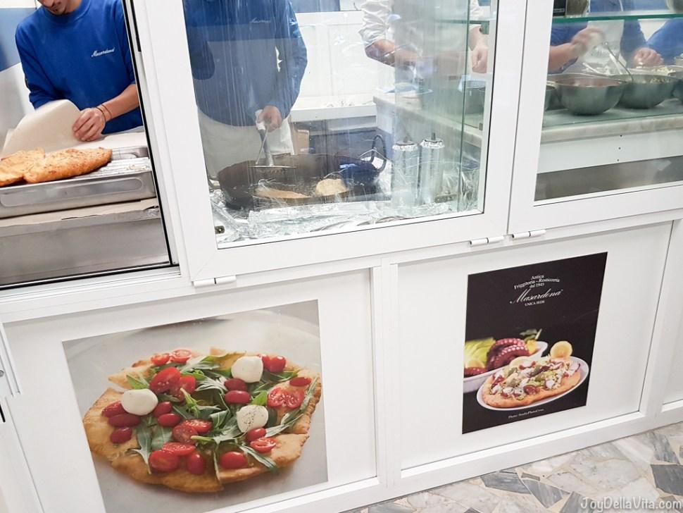 Fried Pizza Pizza Fritte Masardona JoyDellaVita