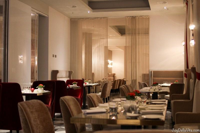Hotel Restaurant NH Collection Palazzo Cinquecento Rome JoyDellaVita