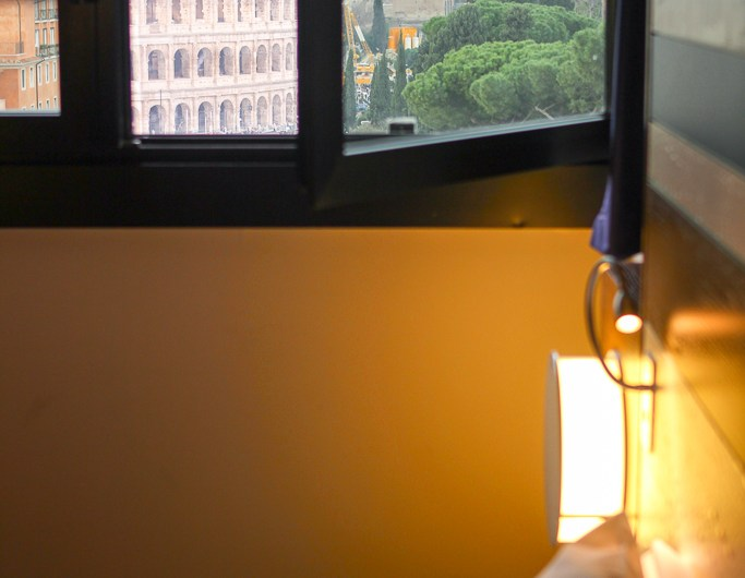 Best Hotel Room View of Colosseum? Mercure Roma Centro Colosseo
