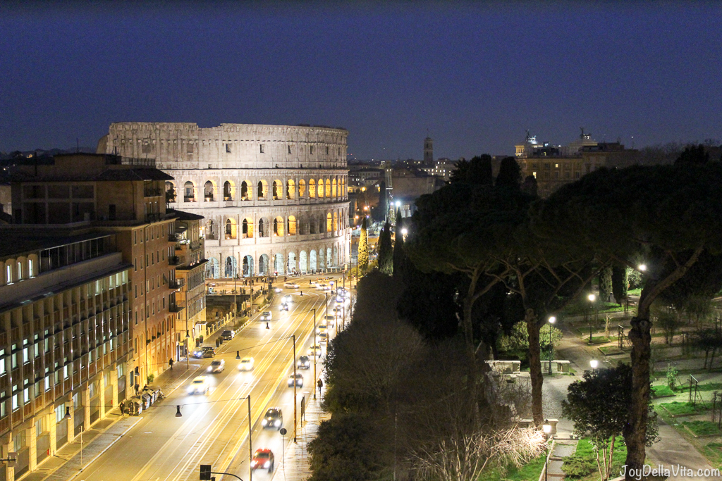 best hotel room view of colosseum mercure roma centro