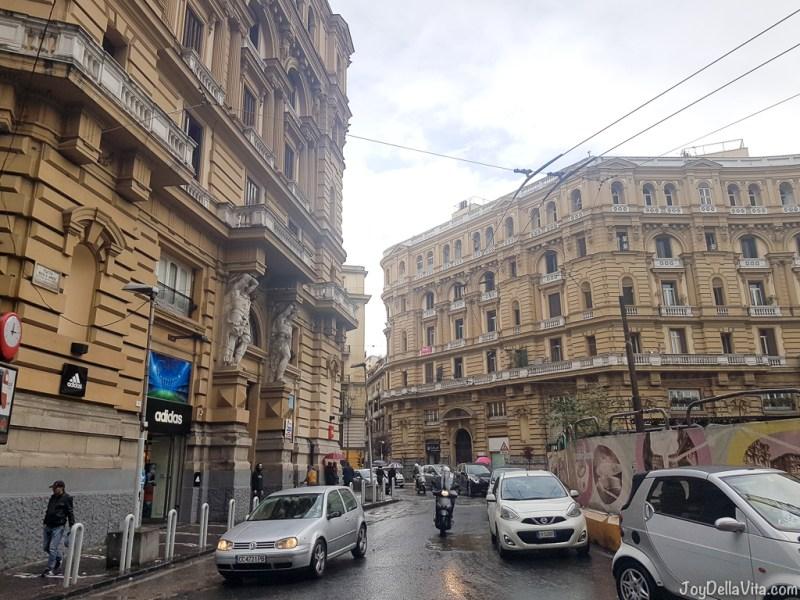 Piazza Nicola Amore Naples Smartphone Sightseeing Walk JoyDellaVita
