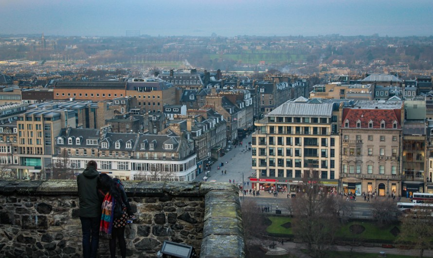 Places with a view in Edinburgh, Scotland