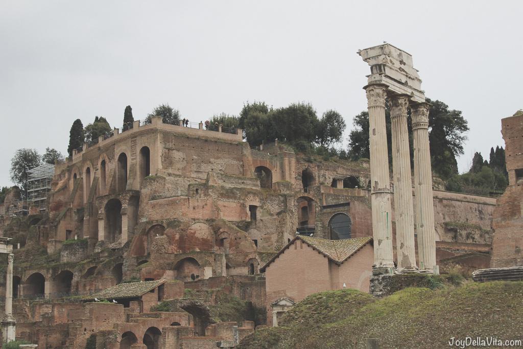 Palatine Hill Collina del Palatino Roman Forum Rome Winter JoyDellaVita