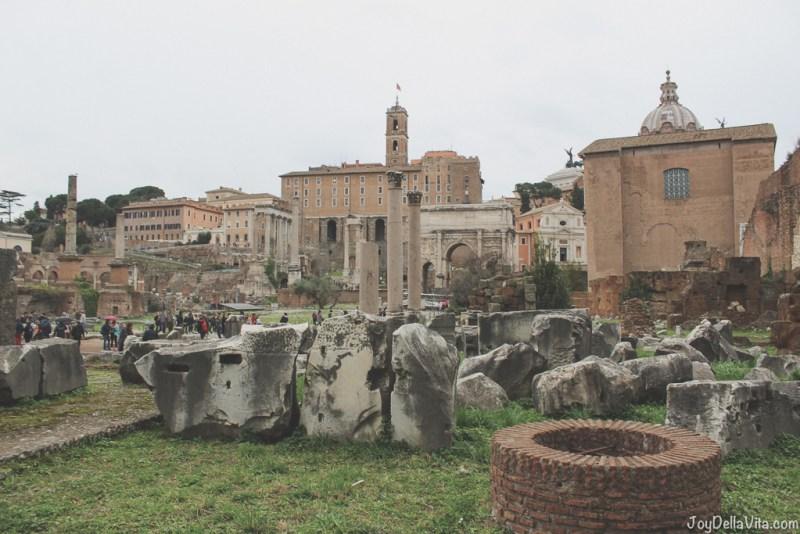 Roman Forum Rome Winter JoyDellaVita