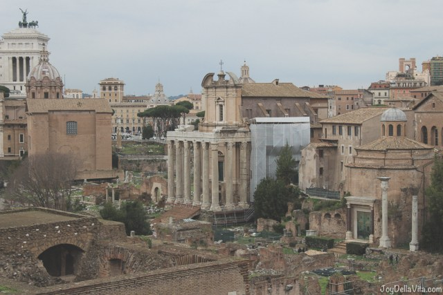 Roman Forum Rome Winter JoyDellaVita