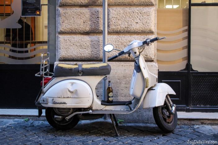 vintage Vespa Rome joyDellaVita